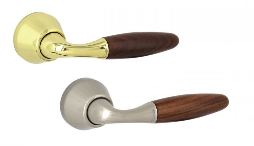 Ручка Martinelli Venize, круглая розетка (хром матовый)
