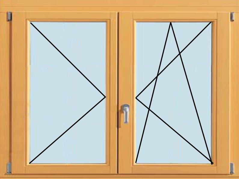 Как сделать из откидного окна поворотно-откидное