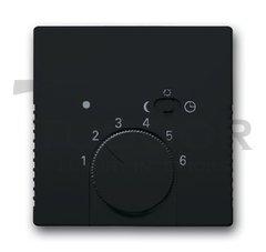Плата центральная (накладка) для механизма терморегулятора (термостата) 1095 U, 1096 U, серия solo/future, цвет антрацит