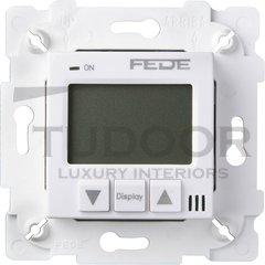 Термостат для электрического подогрева пола 230 В~ 16А , с датчиком температуры воздуха и пола, белый