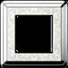 Рамка ClassiX Art (хром/кремовый)