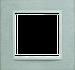 Рамка B.7 (нержавеющая сталь/полярная белизна)