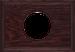 Рамка Прямоугольник внутренней монтаж (венге)