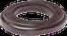 Рамка Овал наружный монтаж (венге)