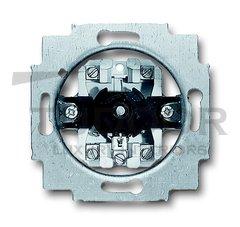 Механизм выключателя жалюзи 1P+N+E, с поворотной ручкой, без фиксации, 10А 250В