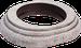 Рамка Овал наружный монтаж (выбеленный дуб с коричневой патиной)