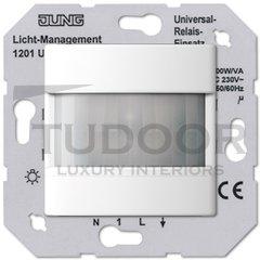 Автоматический выключатель 230 В~ , 40-400Вт, двухпроводное подключение, высота монтажа 1,1м; пластик белый глянцевый