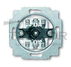 Механизм выключателя жалюзи 1P+N+E, с поворотной ручкой, с фиксацией, 10А 250В