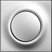 Клавиша Impuls (серебристый алюминий)