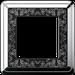 Рамка ClassiX Art (хром/черный)