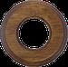 Рамка Восьмерка внутренней монтаж (дуб состаренный)