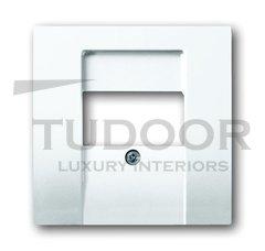 Плата центральная (накладка) для механизмов UAE/TAE, для 0247 и 0248, серия solo/future, цвет davos/альпийский белый