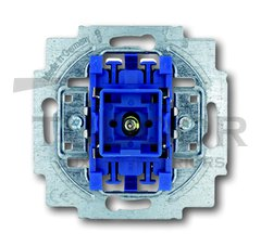Механизм 1-клавишного, 1-полюсного переключателя с лампой подсветки, 10А 250В