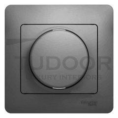 Светорегулятор поворотный 60-300 Вт. для ламп накаливания и галог.220В, алюминий