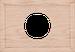 Рамка Прямоугольник внутренней монтаж (дуб не крашенный)
