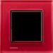 Рамка Delta Miro Стекло (стекло/красное)