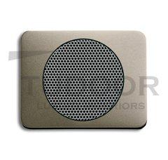 Плата центральная (накладка) для громкоговорителя 8223 U, серия alpha exclusive, цвет палладий