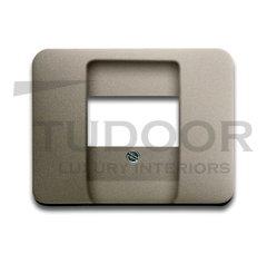 Плата центральная (накладка) для механизмов UAE/TAE, для 0247 и 0248, серия alpha exclusive, цвет палладий