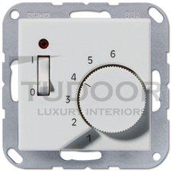 Термостат 230 В~ 10А с выносным датчиком, для электрического подогрева пола, пластик под алюминий