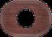 Рамка Овал внутренней монтаж (вишня)