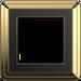Рамка ClassiX (латунь/черный)