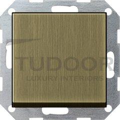 Выключатель одноклавишный, универс. (вкл/выкл с 2-х мест) 10 А / 250 В, бронза