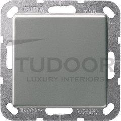Выключатель одноклавишный, универс. (вкл/выкл с 2-х мест) 10 А / 250 В, нержавеющая сталь