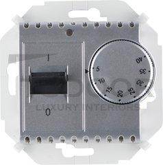 Термостат механический с выносным датчиком, для электрического подогрева пола 230 В~ 8А, алюминий