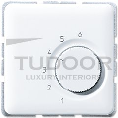 Термостат 230 В~ 10А с выносным датчиком, для электрического подогрева пола, белый
