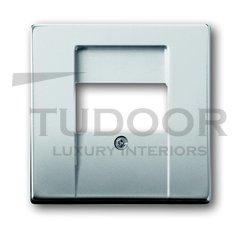 Плата центральная (накладка) для механизмов UAE/TAE, для 0247 и 0248, серия pur/сталь
