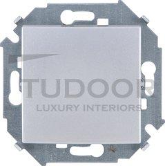 Выключатель одноклавишный, 10 А / 250 В, алюминий