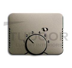Плата центральная (накладка) для механизма терморегулятора (термостата) 1095 U, 1096 U, серия alpha exclusive, цвет палладий