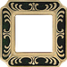 Рамка Smalto Italiano Siena (черный)