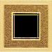 Рамка Crystal De Luxe (красное золото)
