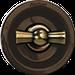 Клавиша Venezia Carre (бронза / коричневый)