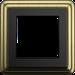 Рамка ClassiX (бронза/черный)