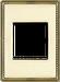 Рамка Venezia Metal Square (золото)