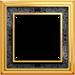 Рамка Dynasty (полированная латунь / черная роспись)