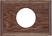 Рамка Прямоугольник внутренней монтаж (дуб коричневый)