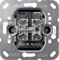 Выключатель двухклавишный с контрольной подсветкой