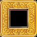 Рамка Emporio (блестящее золото)