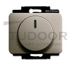 Светорегулятор поворотный 2-100 Вт. для светодиодных ламп.220В, палладий