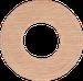 Рамка Восьмерка внутренней монтаж (дуб не крашенный)