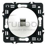 Выключатель, переключатель одноклавишный типа рычажок, (вкл/выкл с 1-го и 2-х мест) 6 А / 250 В, белый