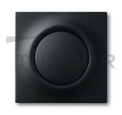 Выключатель, переключатель одноклавишный с подсветкой, (вкл/выкл с 1-го и 2-х мест) 10 А / 250 В, черный бархат