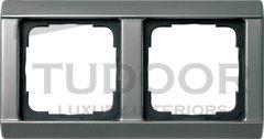 Рамка двойная, для горизонтального/вертикального монтажа, серия 20
