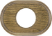 Рамка Овал внутренней монтаж (дуб зеленый)