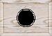 Рамка Прямоугольник внутренней монтаж (выбеленный дуб с золотой патиной)