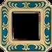 Рамка Smalto Italiano Siena (голубой сапфир)