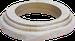 Рамка Овал наружный монтаж (выбеленный дуб с золотой патиной)